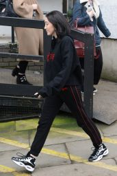 Noah Cyrus - Outside the ITV Studios in London