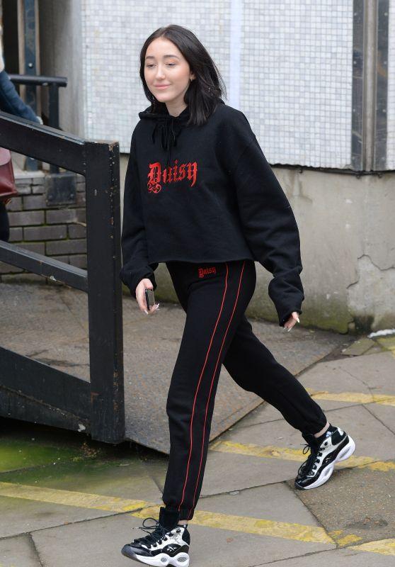 Noah Cyrus - Outside the ITV Studios in London