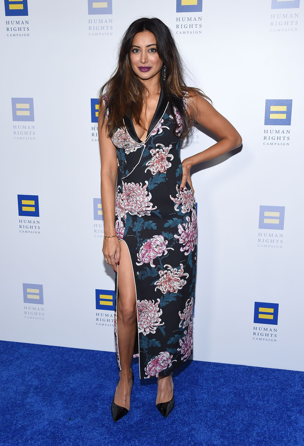 Noureen Dewulf The Human Rights Campaign 2018 Los