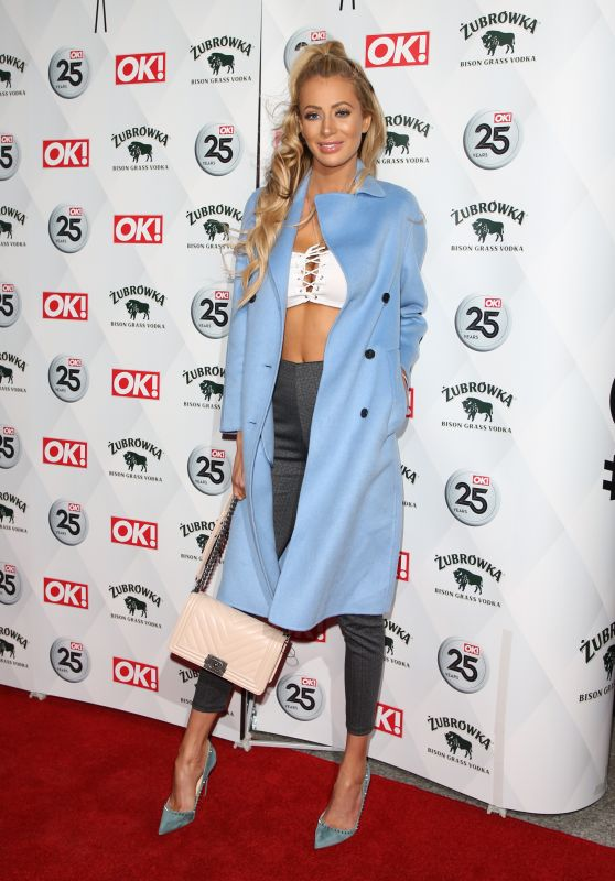 Olivia Attwood – OK! Magazine's Party in London 03/21/2018