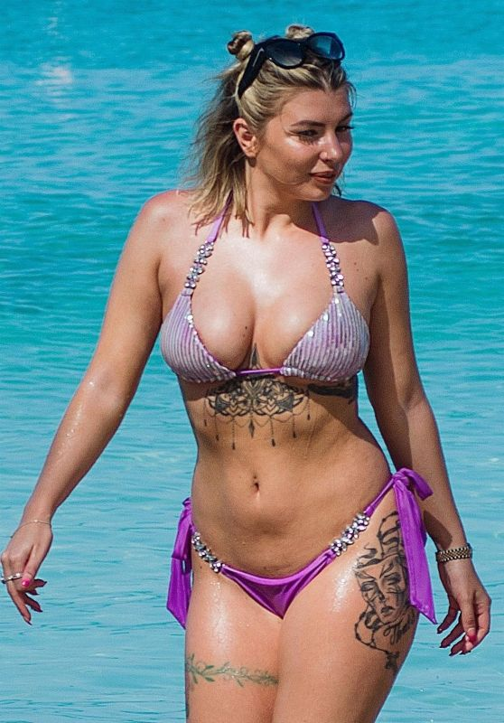 Olivia Buckland in Bikini on the Beach in Barbados 03/14/2018