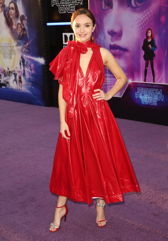 """Olivia Cooke - """"Ready Player One"""" Premiere in Los Angeles"""