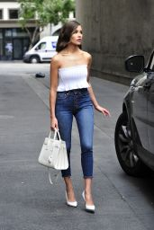 Olivia Culpo Street Fashion - Out in Los Angeles 03/20/2018