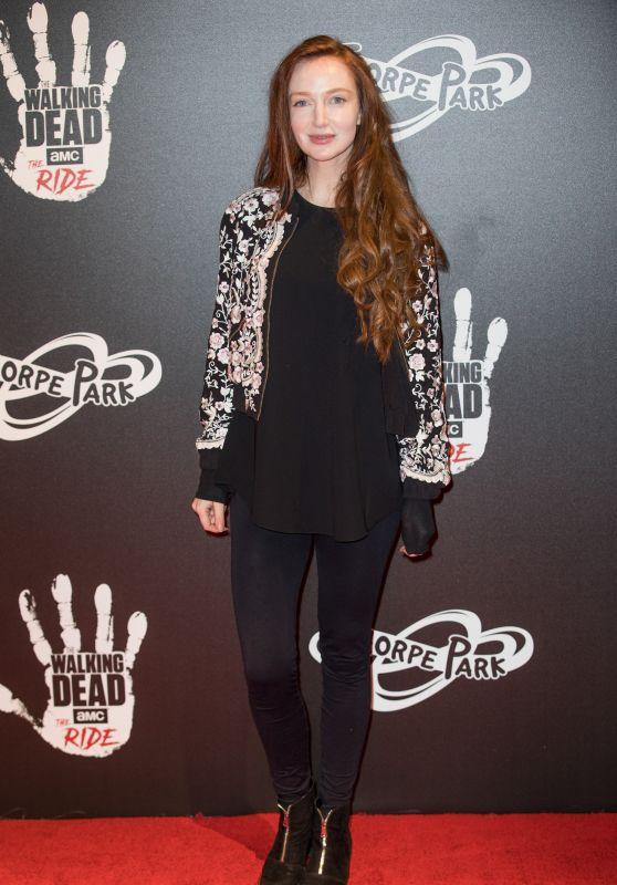 "Olivia Grant – ""The Walking Dead Ride"" Launch in London"