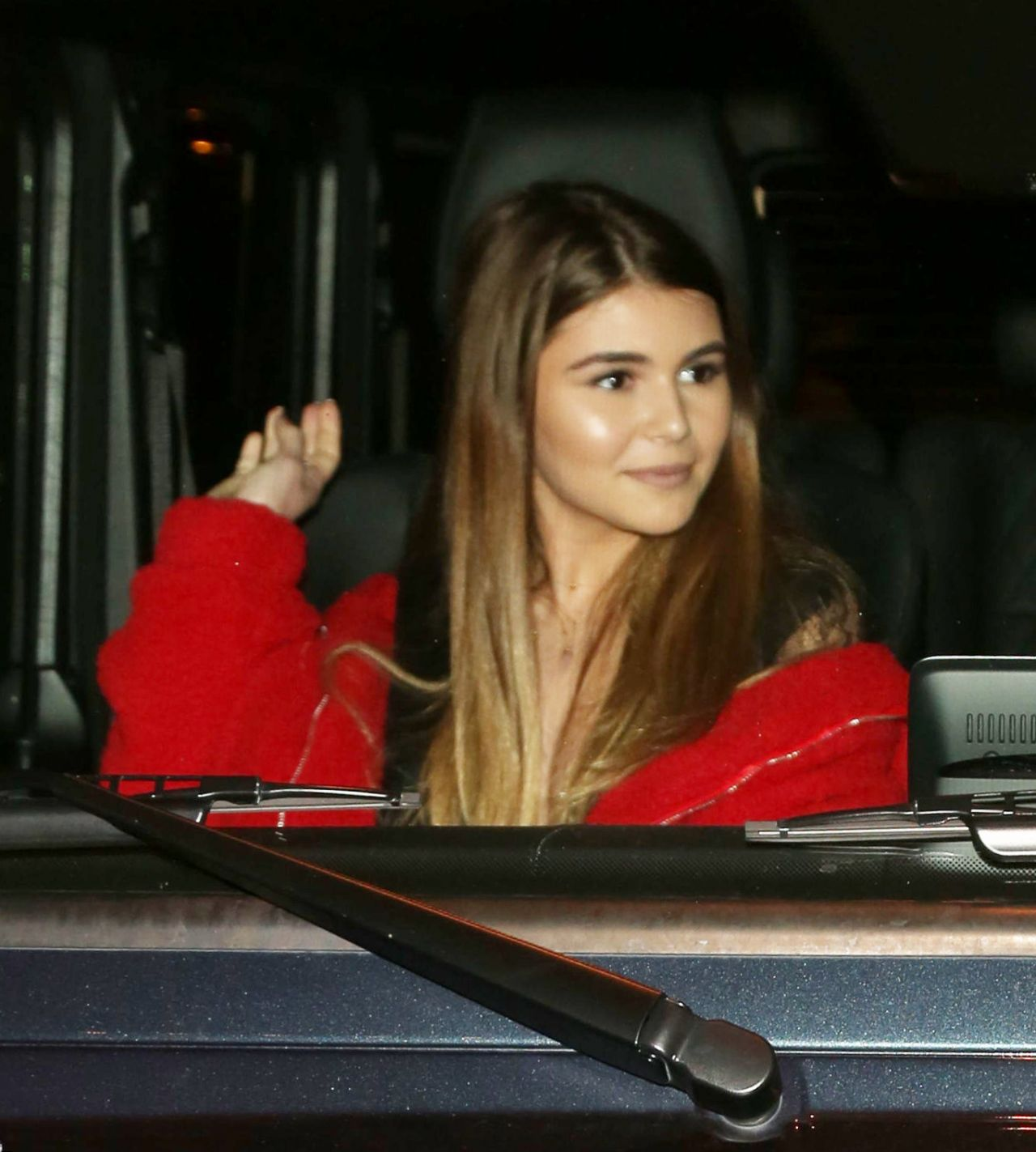 Olivia Jade Giannulli In Red And Black Craig S In West