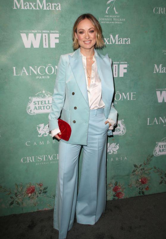 Olivia Wilde – 2018 Women in Film Pre-Oscar Cocktail Party in LA