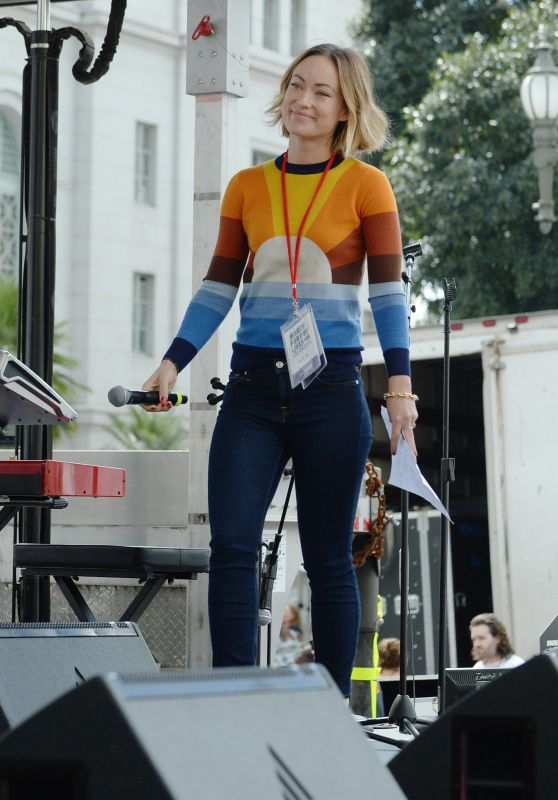 Olivia Wilde - March For Our Lives Event in LA