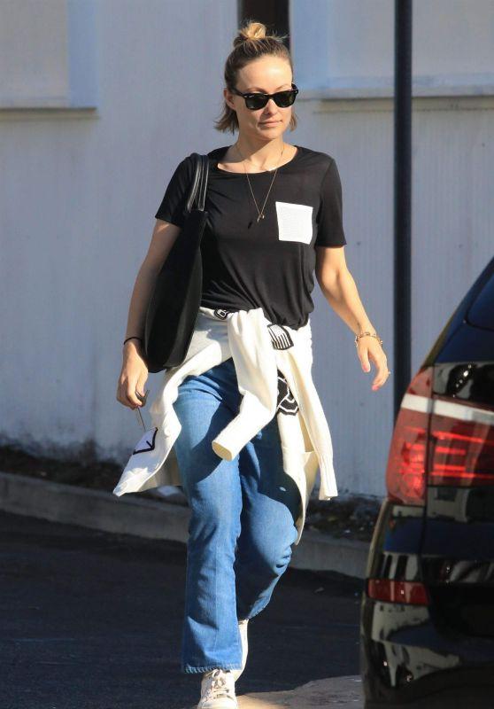 Olivia Wilde Street Style - West Hollywood 03/01/2018