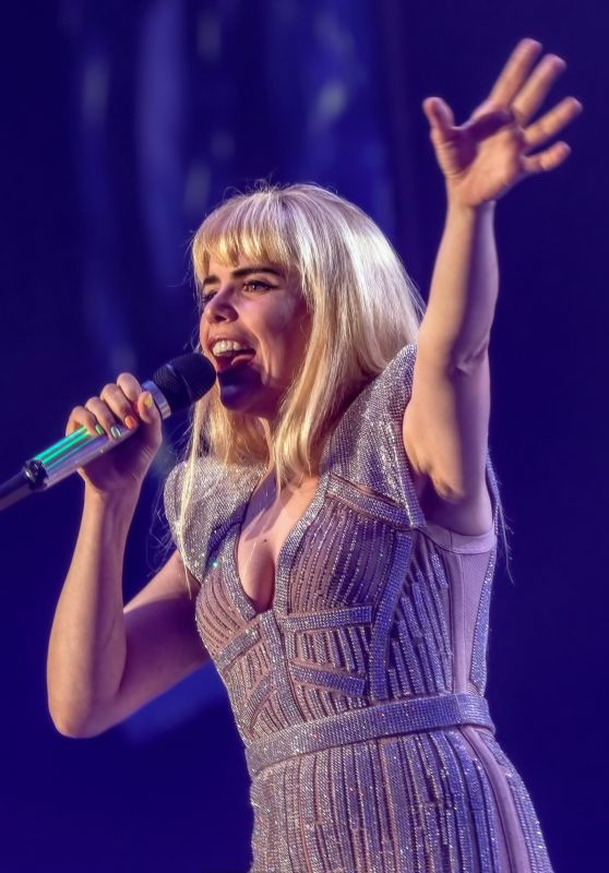 Paloma Faith Performs Live in Liverpool