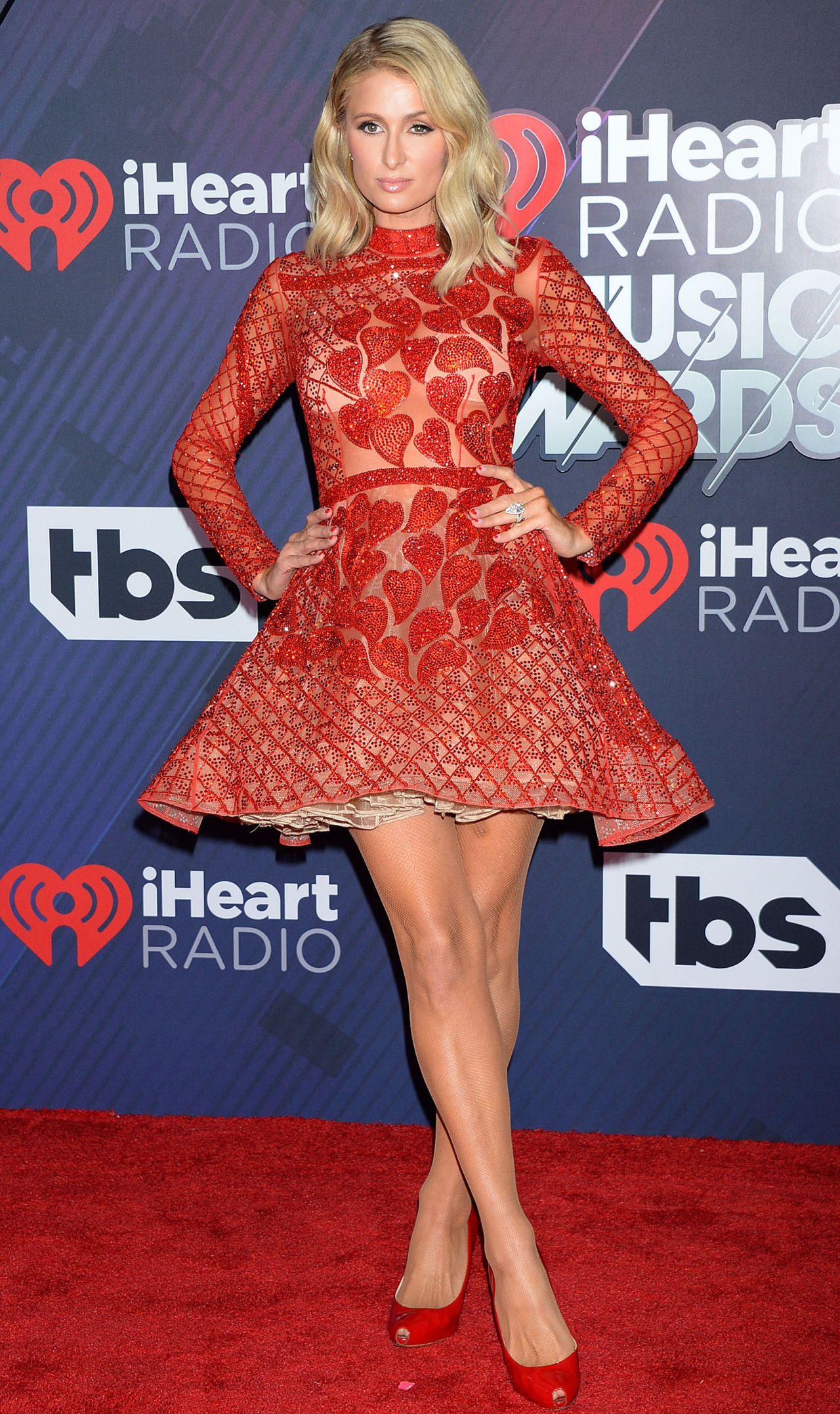 What Race Is Rita Ora >> Paris Hilton – 2018 iHeartRadio Music Awards in Inglewood