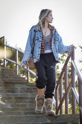 Paris Jackson - Leaving the Mulholland Overlook in LA 03/18/2018