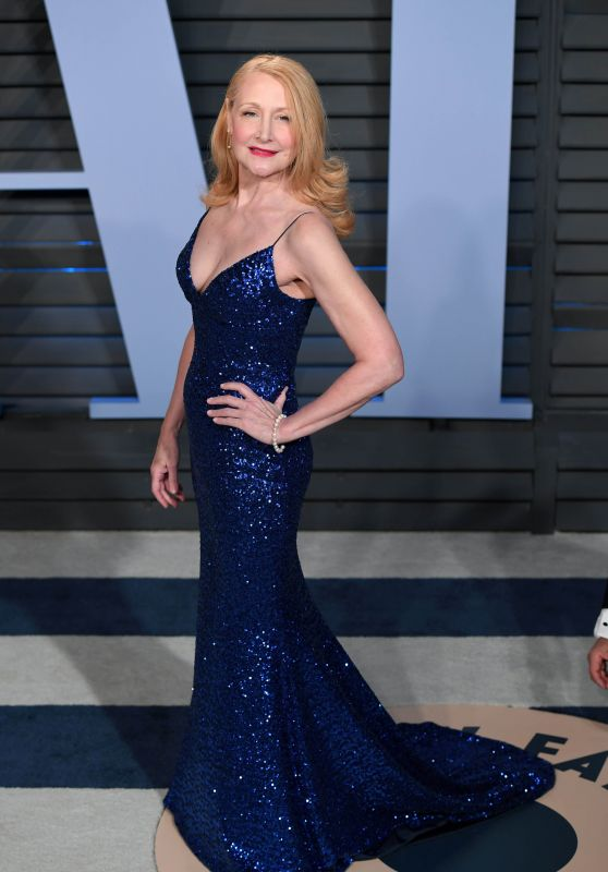 Patricia Clarkson – 2018 Vanity Fair Oscar Party in Beverly Hills