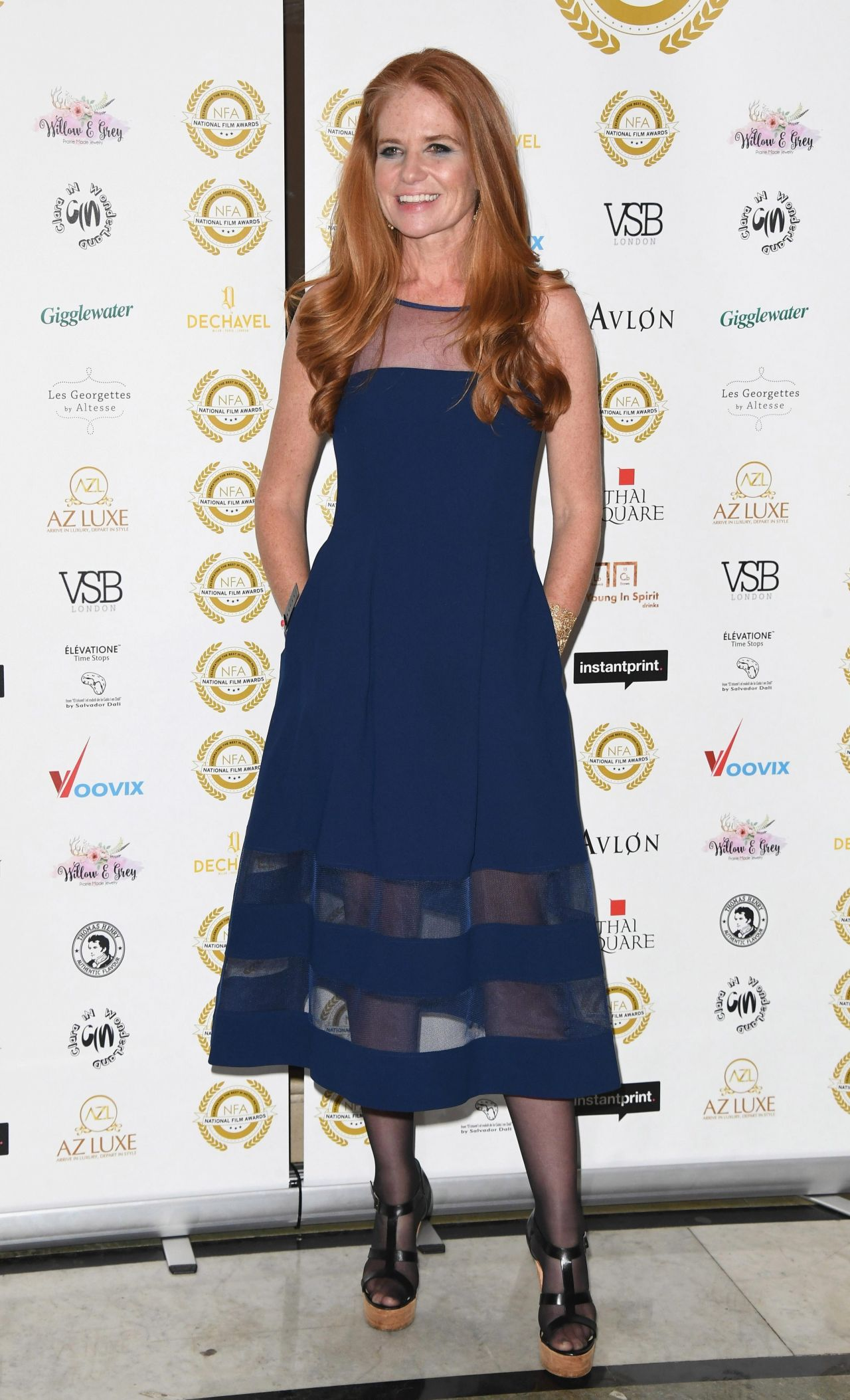 Patsy Palmer – 2018 National Film Awards in London