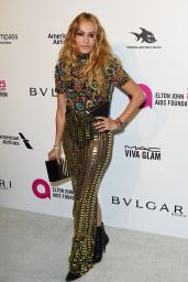 Paulina Rubio – Elton John AIDS Foundation's Oscar 2018 Viewing Party in West Hollywood
