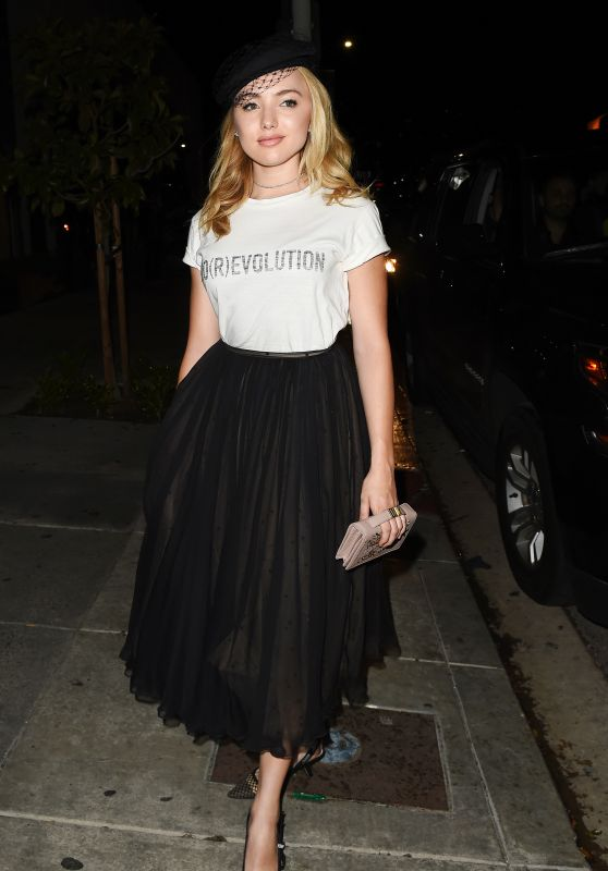 Peyton Roi List – Dior Addict Lacquer Pump Launch Party in West Hollywood