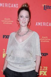 "Polly Lee – ""The American's' TV Show Premiere in NY"