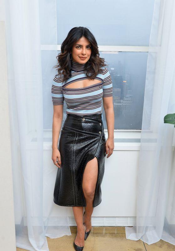"Priyanka Chopra - ""Book the U.S."" Kicks Off List in New York City 03/07/2018"