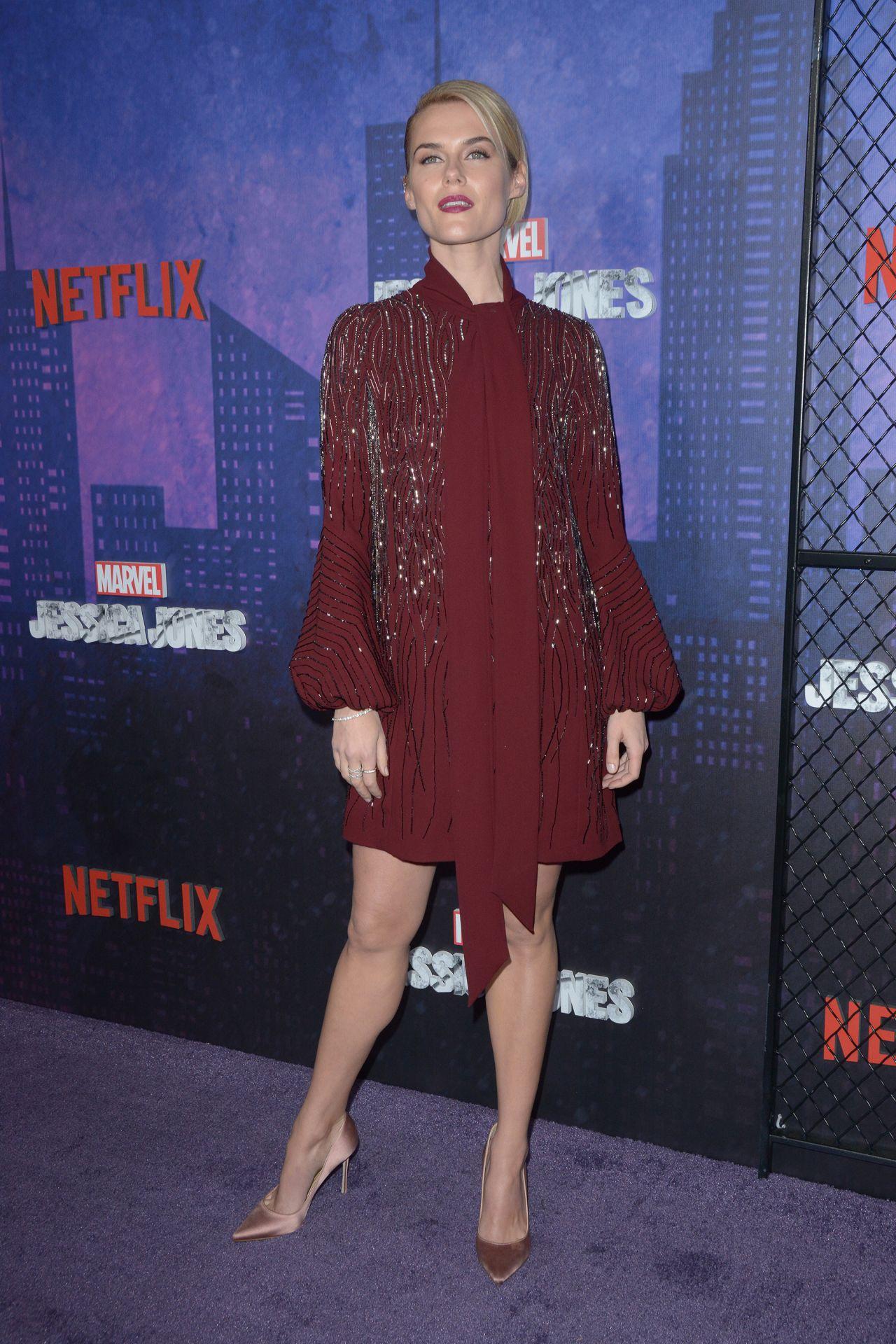 Rachael Taylor Quot Jessica Jones Quot Season 2 Premiere In Nyc