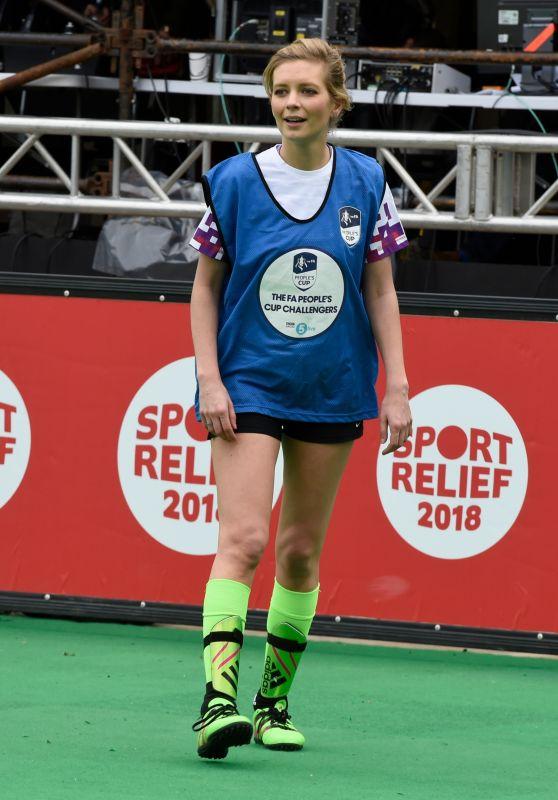 Rachel Riley - 12hr Soccer Challenge in Manchester 03/23/2018