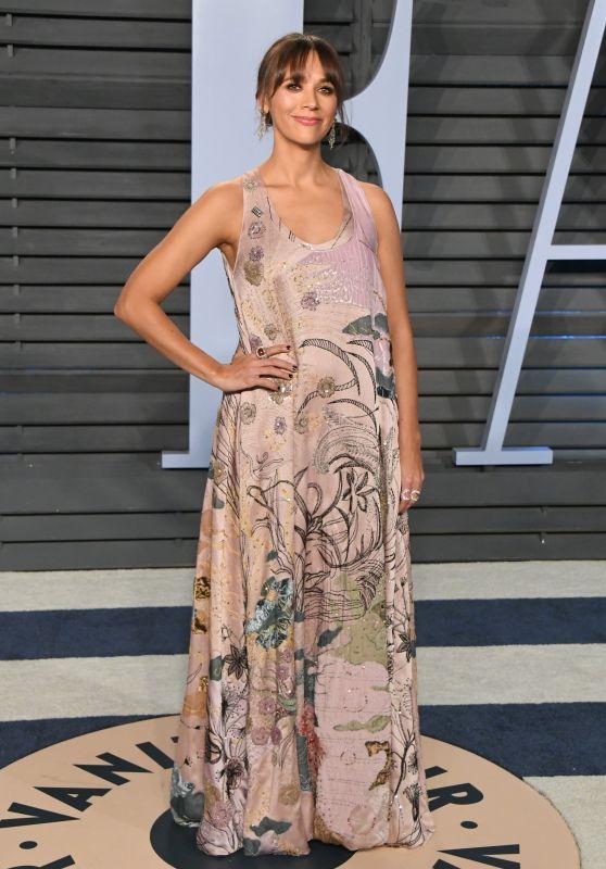 Rashida Jones – 2018 Vanity Fair Oscar Party in Beverly Hills