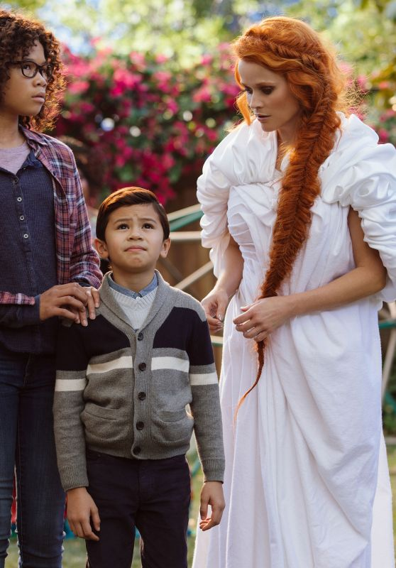"Reese Witherspoon and Gugu Mbatha-Raw - ""A Wrinkle in Time"" Photos"