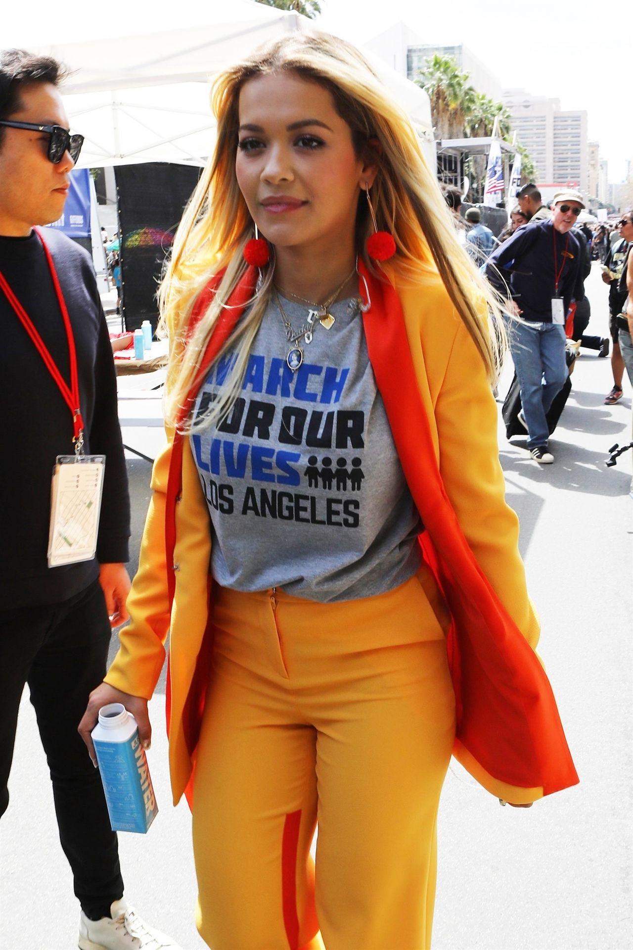 What Race Is Rita Ora >> Rita Ora Style and Fashion - Los Angeles 03/24/2018