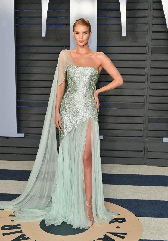 Rosie Huntington-Whiteley – 2018 Vanity Fair Oscar Party in Beverly Hills