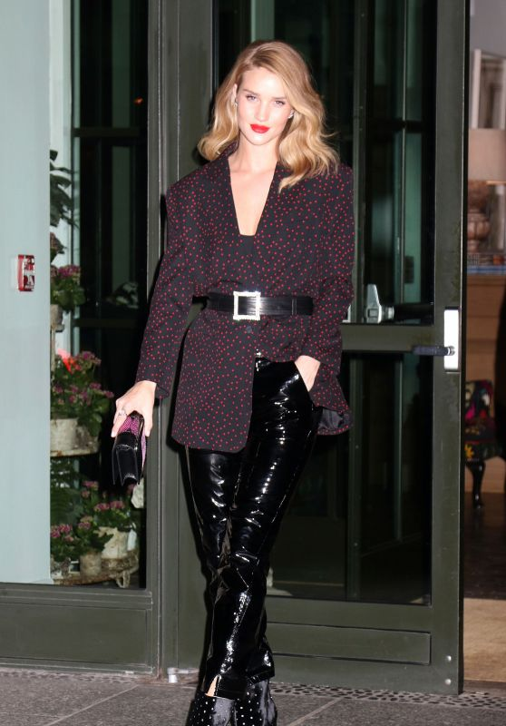 Rosie Huntington-Whiteley - Out in New York 03/28/2018