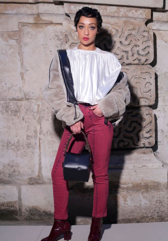 Ruth Negga – Louis Vuitton Fashion Show in Paris 03/06/2018