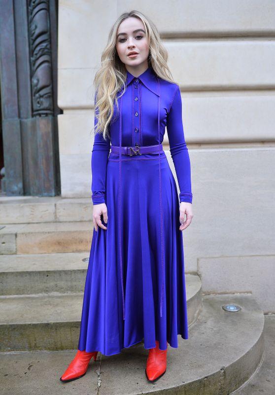 Sabrina Carpenter - Nina Ricci Show FW18 in Paris 03/02/2018