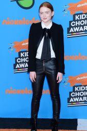Sadie Sink – 2018 Nickelodeon Kids' Choice Awards