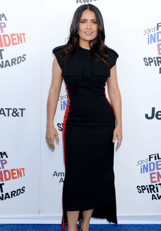 Salma Hayek – 2018 Film Independent Spirit Awards in Santa Monica