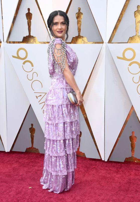 Salma Hayek – Oscars 2018 Red Carpet