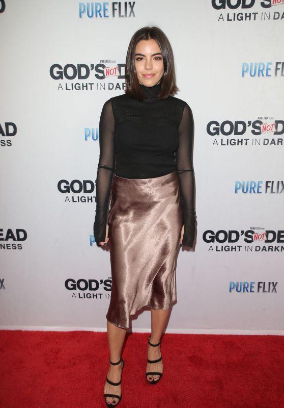 """Samantha Boscarino – """"God's Not Dead: A Light in Darkness"""" Premiere in LA"""
