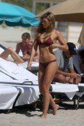 Samantha Hoopes in Bikini in Miami 03/17/2018