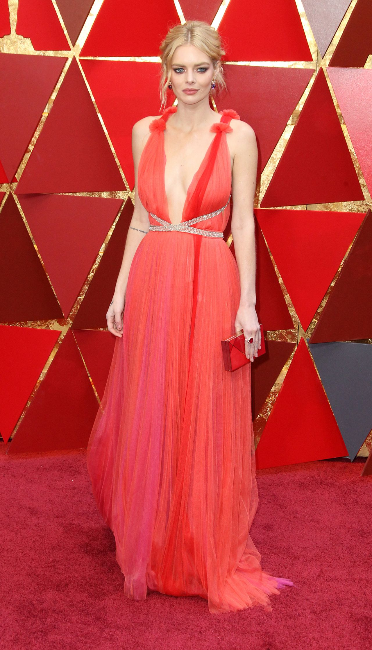 Samara Weaving Oscars 2018 Red Carpet