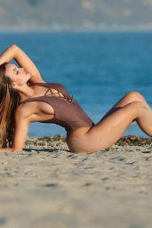 Sammy Mitchell in Swimsuit - Beach Photoshoot in Malibu