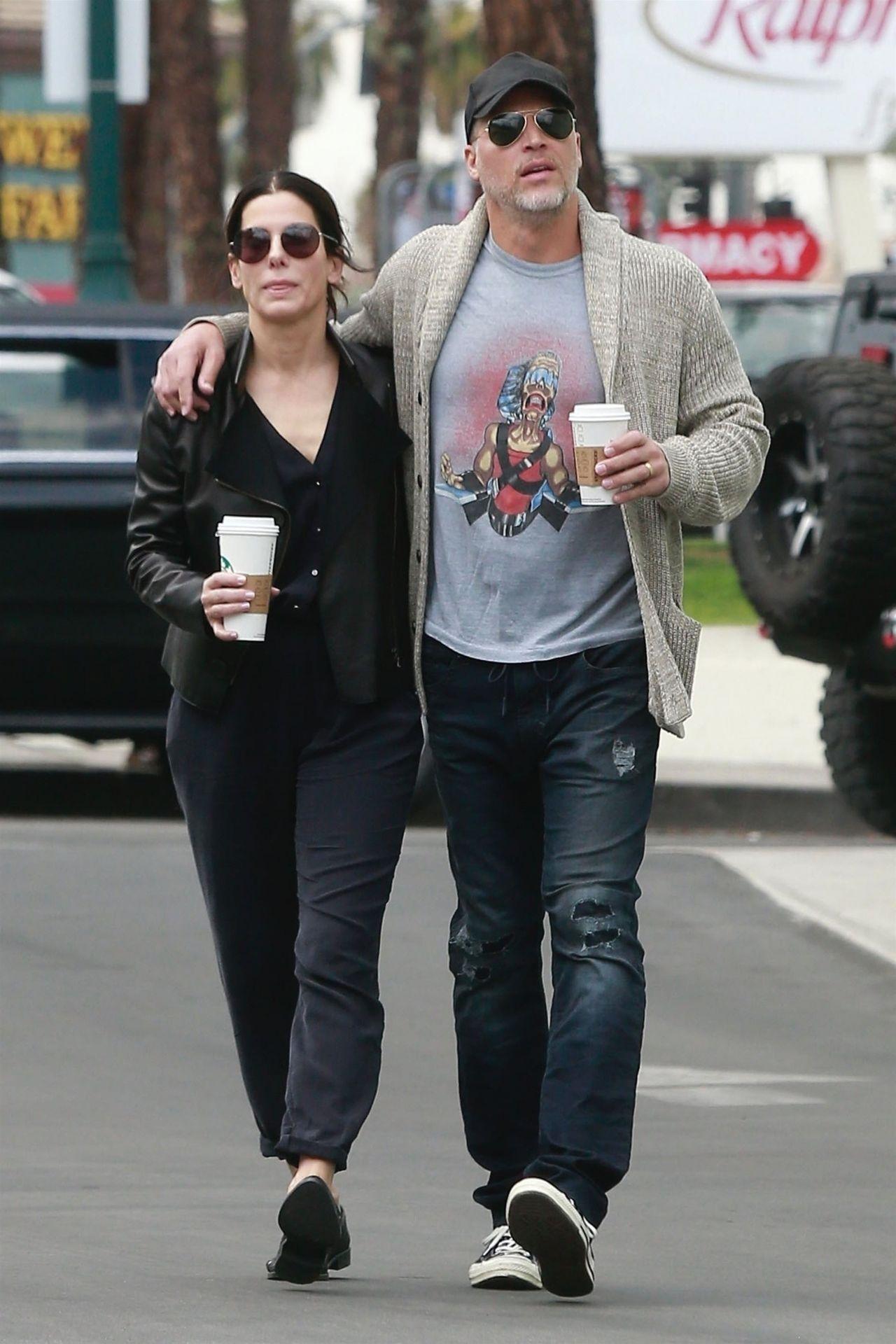 Sandra Bullock And Bryan Randall Out In Studio City 03