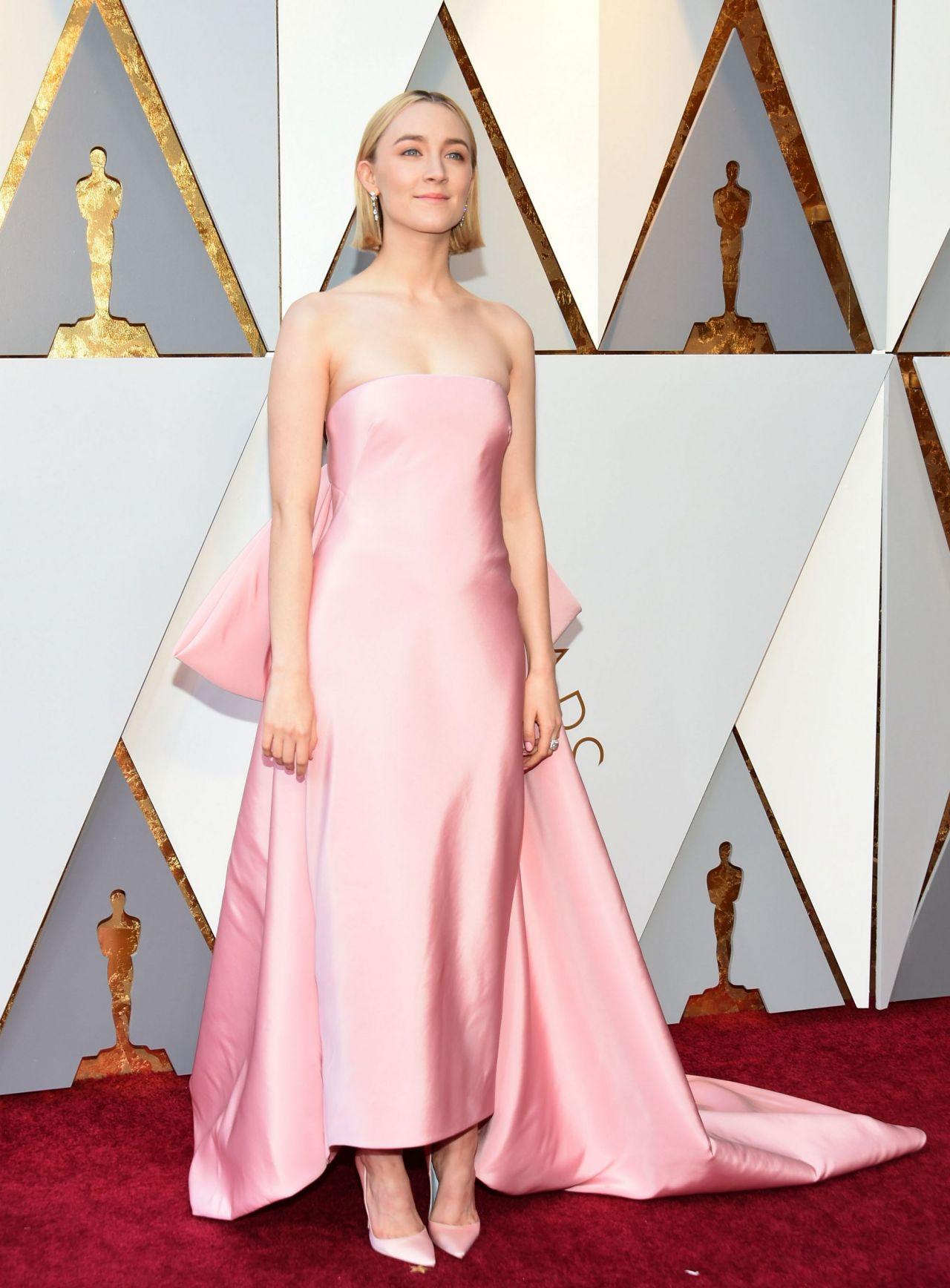 Saoirse Ronan Oscars 2018 Red Carpet