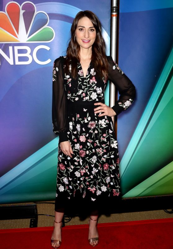 Sara Bareilles – NBC Mid-Season Press Day in New York 03/08/2018