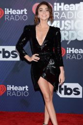 Sarah Hyland – 2018 iHeartRadio Music Awards in Inglewood