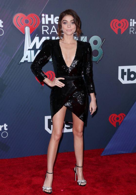Sarah Hyland – 2018 iHeartRadio Music Awards in Inglewood