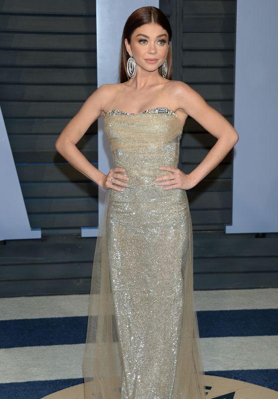 Sarah Hyland – 2018 Vanity Fair Oscar Party in Beverly Hills