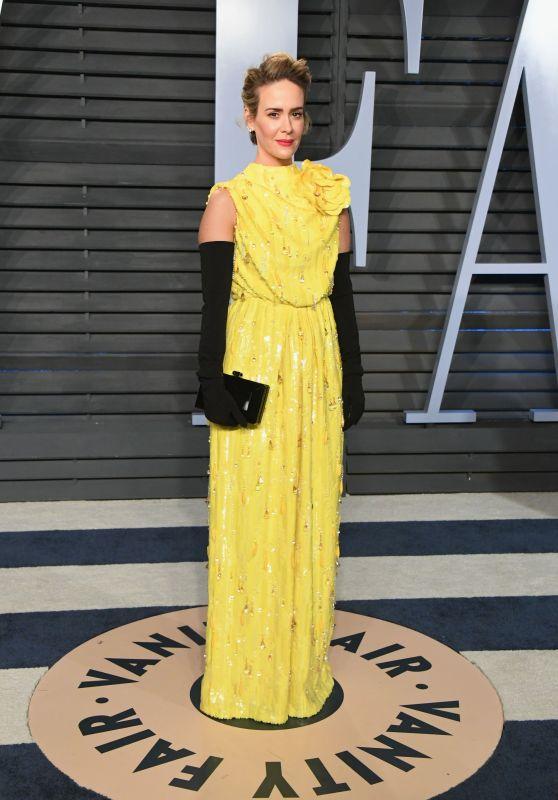 Sarah Paulson – 2018 Vanity Fair Oscar Party in Beverly Hills