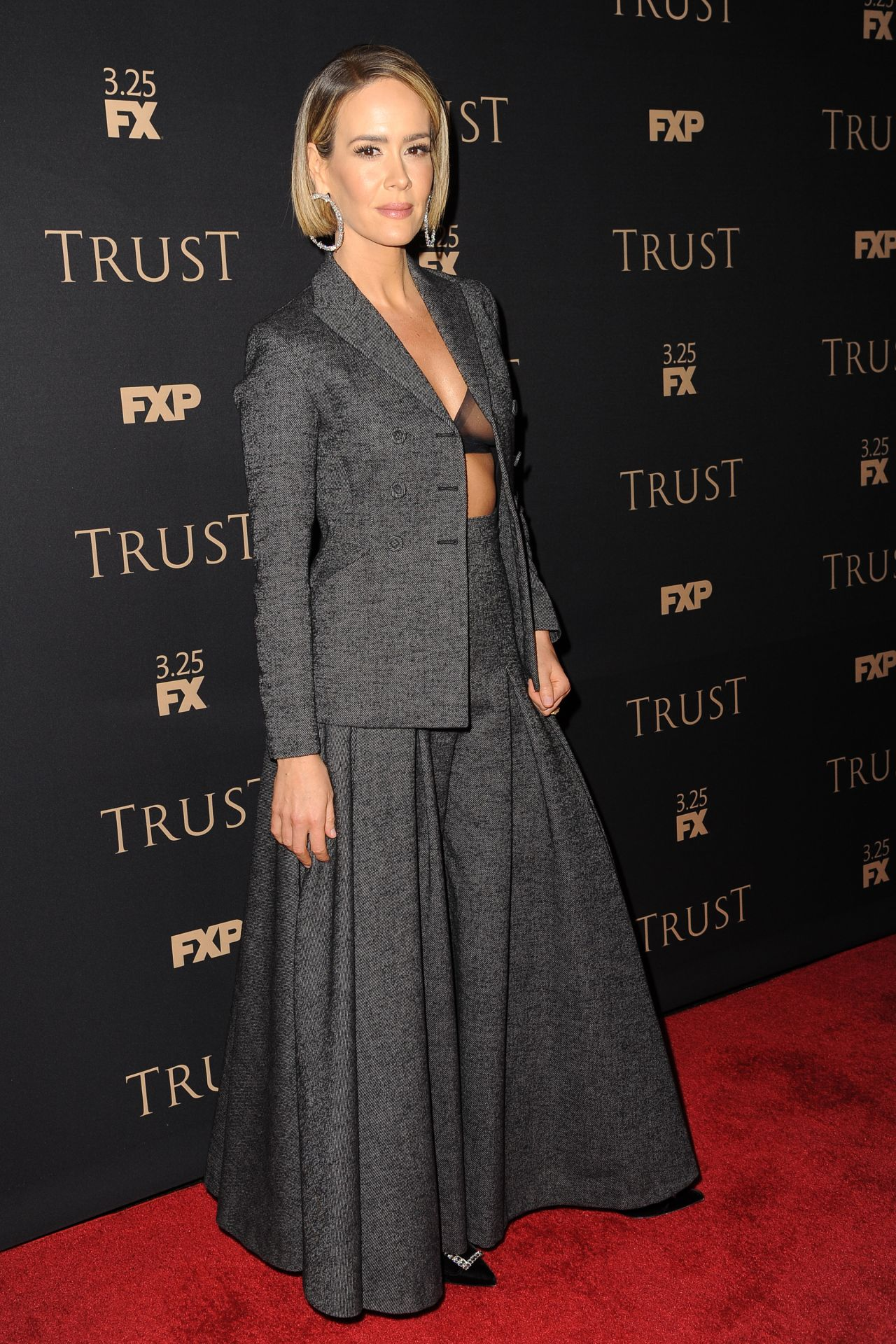 Sarah Paulson Fx All Star Party In New York 03 15 2018