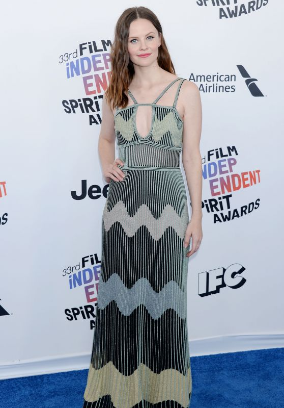 Sarah Ramos – 2018 Film Independent Spirit Awards in Santa Monica