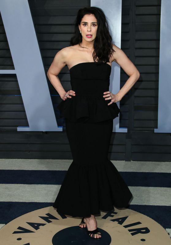 Sarah Silverman – 2018 Vanity Fair Oscar Party in Beverly Hills