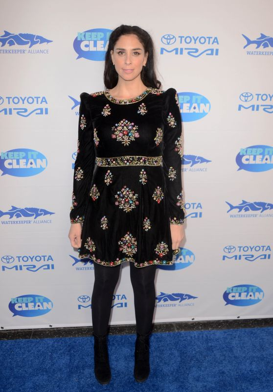 Sarah Silverman – Keep It Clean Love Comedy Benefit for Waterkeepers Alliance in Los Angeles