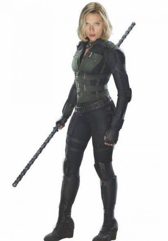 Scarlett Johansson - Avengers: Infinity War Promotional Photo