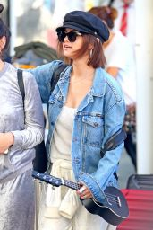 Selena Gomez at Sydney Airport 03/19/2018